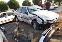 تصادف تریلر با دو خودرو سواری، یک کشته و چهار مجروح بر جای گذاشت