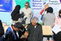 حضور مدیر کل ورزش و جوانان استان زنجان در ایستگاه تندرستی هیات پزشکی ورزشی