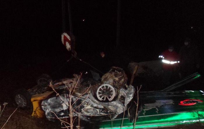 واژگونی خودرو سواری سمند 2  کشته برجای گذاشت