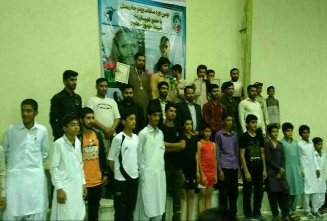 رقابت های ووشو جام رمضان سیستان در هامون برگزار شد