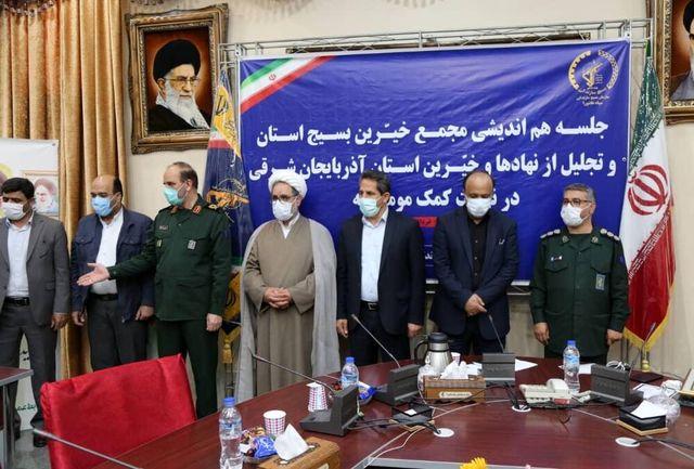شهرداری تبریز دستگاه برتر در نهضت کمک های مومنانه شناخته شد