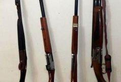 کشف سلاحهای شکاری غیرمجاز در ماسال