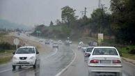 توصیه پلیس راه به رانندگان در جاده های بارانی