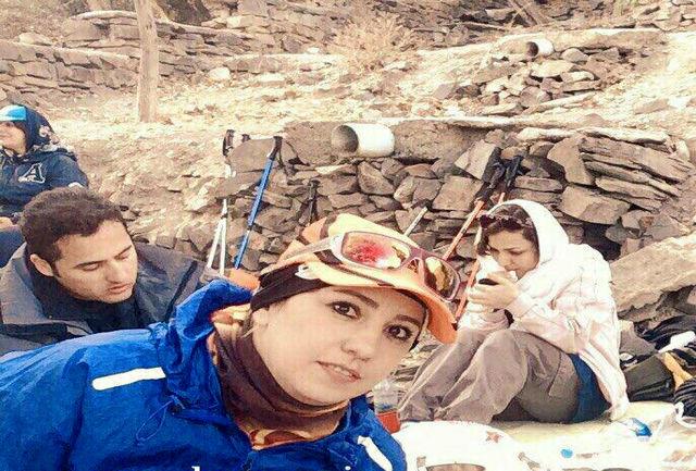 """شناسایی هویت دو جسد کوهنورد مفقود شده  اشترانکوه /شناسایی """"مهشید جان محمدی"""" یکی از بانوان گروه"""