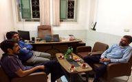 بازدید مدیر روابط عمومی اداره کل ورزش و جوانان استان از خبرگزاری برنا در یزد