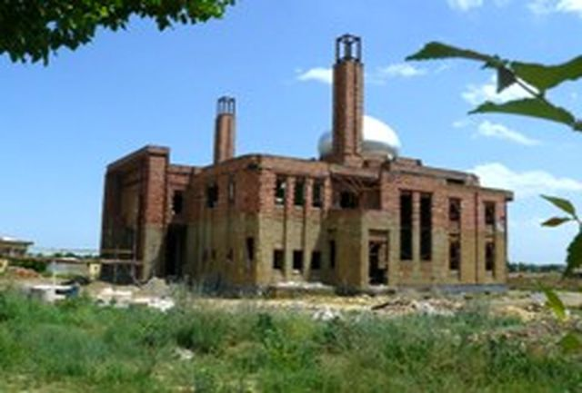 عملیات ساخت 2باب مسجد در تكاب آغاز شد
