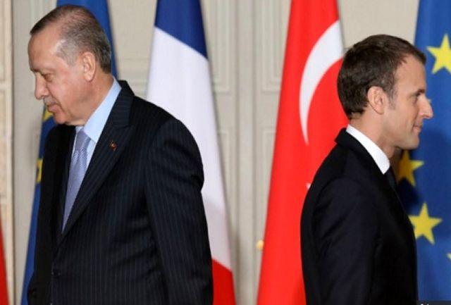 حمله شدید اللحن اردوغان به مکرون