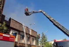 جزئیات آتش سوزی ساختمانی خیابان سعدی/ حادثه هیچ مصدومی نداشت