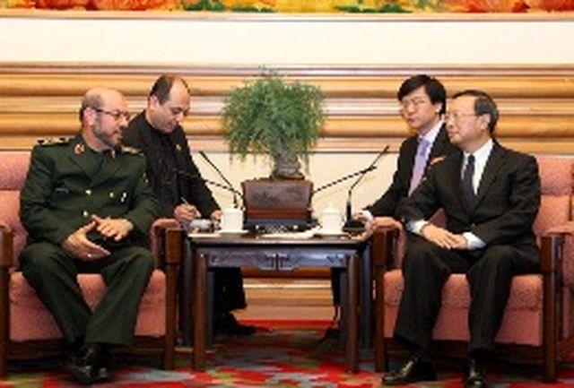 سردار دهقان با مسئول سیاست و امنیت خارجی شورای عالی دولتی چین دیدارکرد