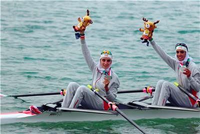 دو قایقران همدانی در ترکیب تیم ملی روئینگ بانوان برای مسابقات قهرمانی آسیا
