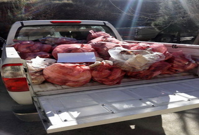 معدوم سازی بیش از 300 کلیو گرم گوشت غیر قابل مصرف در خرم آباد
