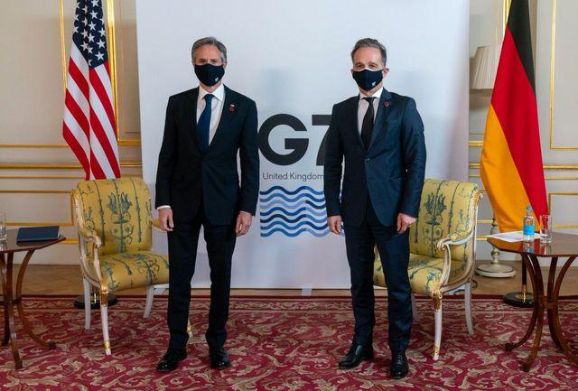 رایزنی وزرای خارجه آلمان و آمریکا درباره ایران
