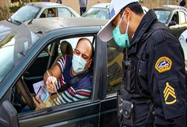 جریمه ۵۱۰ هزار تومانی برای ۳۱۵ وسیله نقلیه متخلف