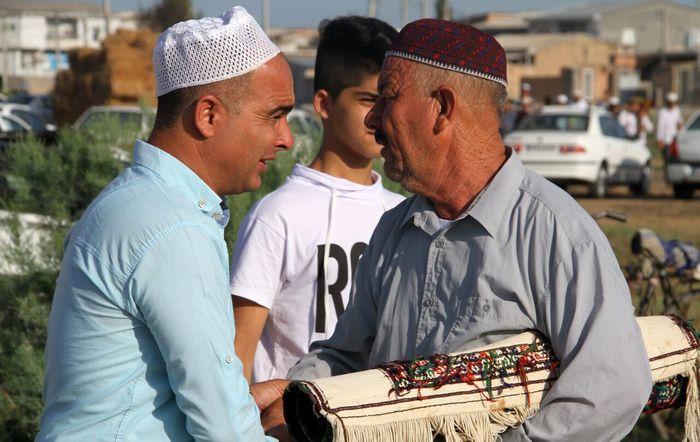 آداب و رسوم مردم ترکمن صحرا در آستانه عید قربان