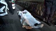 فوت عابر پیاده در پل افسریه