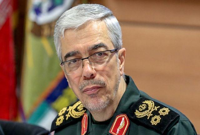 سرلشکر باقری به رئیس ستاد ارتش عراق تسلیت گفت
