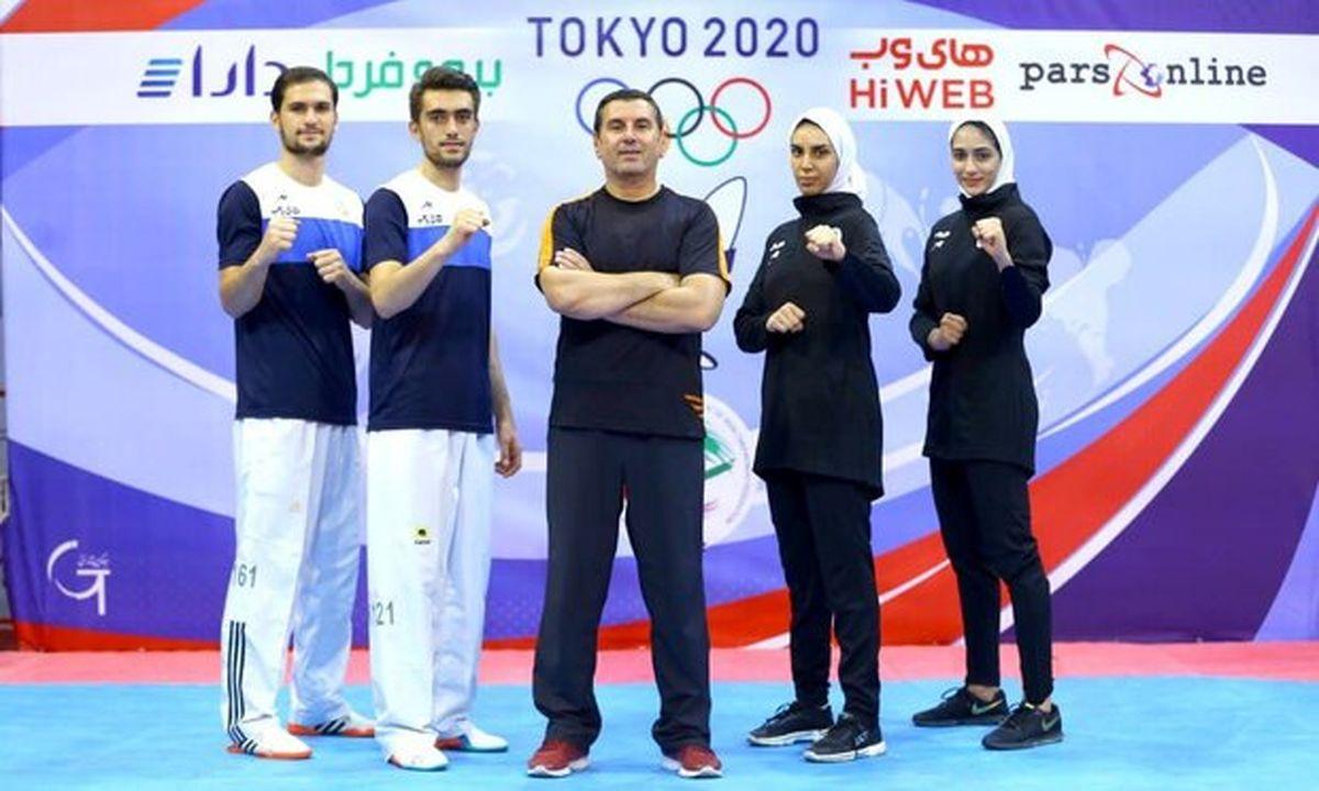 تیم ملی تکواندو ایران امشب به توکیو میرود