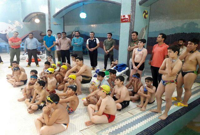 اولین جشنواره استعدادیابی شنای فرزندان کارگران در کشور برگزار شد