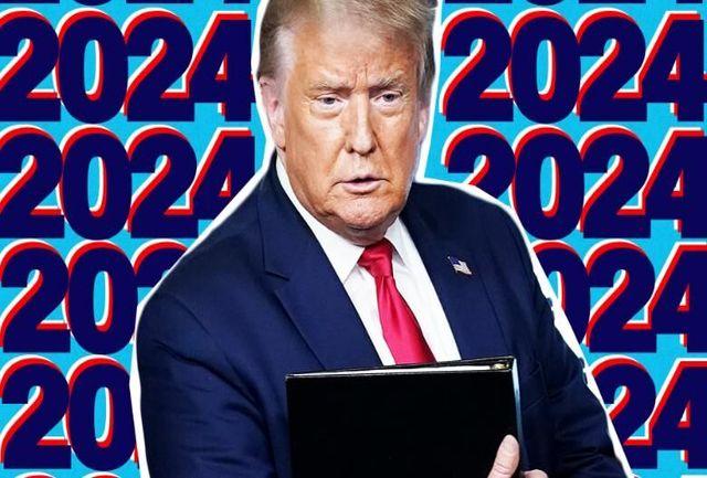 ترامپ نامزد انتخابات ۲۰۲۴ میشود