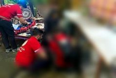 امدادرسانی به بانوی مصدوم مسمومیت دارویی در منطقه دربند