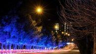 شبهای زیبای همدان با نورپردازی معابر منطقه یک