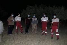 امداد رسانی نجاتگران هلال احمر به سه فرد گیر افتاده در ارتفاعات کوه چرمین سیروان