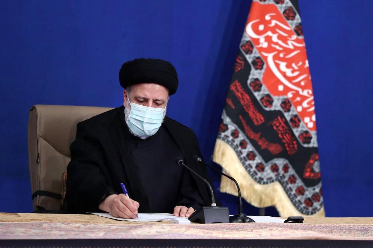 رئیسی درگذشت همسر امام موسی صدر را تسلیت گفت