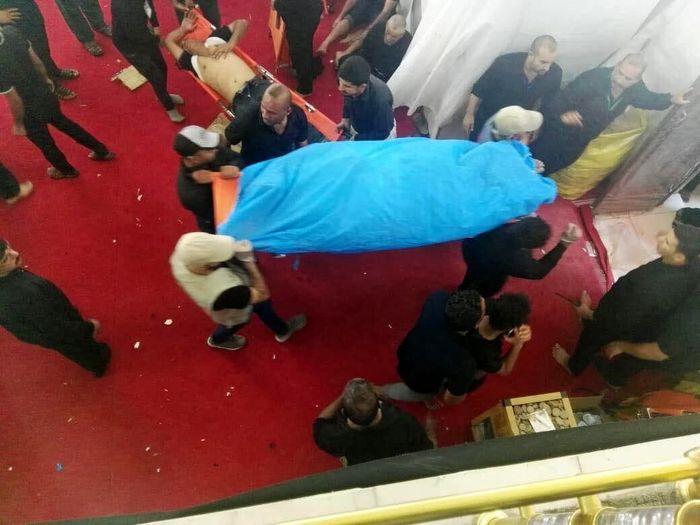 پیکر زائر جانباخته ایرانی در کربلا به خاک سپرده میشود
