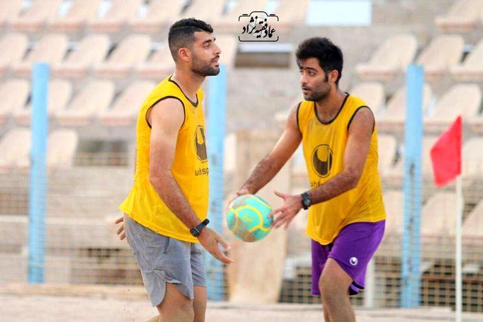 مهارت طارمی در فوتبال ساحلی+ عکس
