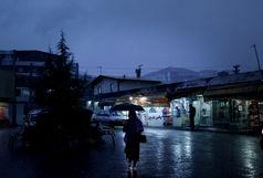 بارش باران در قم شدت می گیرد