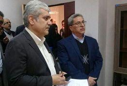 دیدار معاون رئیس جمهوری از پارک علم و فناوری سمنان