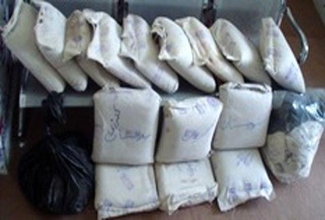توقیف اتوبوس مسافربری با 156 کیلوگرم مواد مخدر