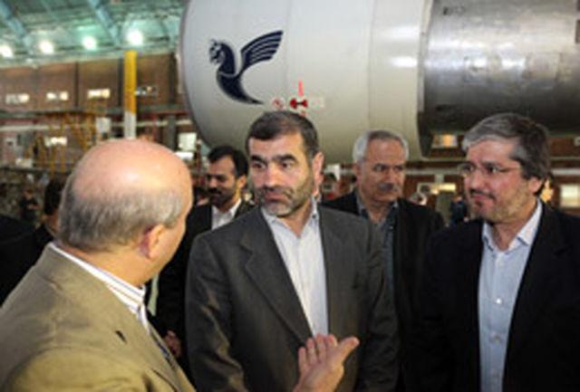 صرفه جویی 8/4 میلیون دلاری در پی اجرای تعمیرات اساسی هواپیما