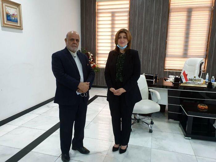 مسجدی با وزیر امور مهاجران عراق دیدار کرد