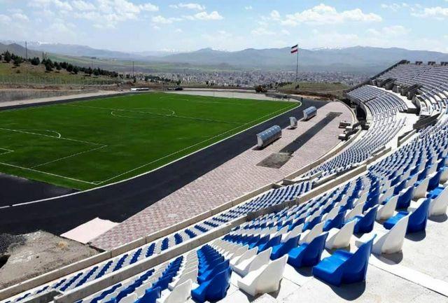 فاز نخست استادیوم 5 هزار نفری شهرستان ملایر افتتاح شد