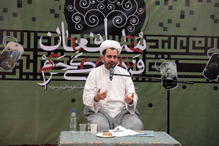 کار فرهنگی در سوریه نباید وارد حوزه دین شود