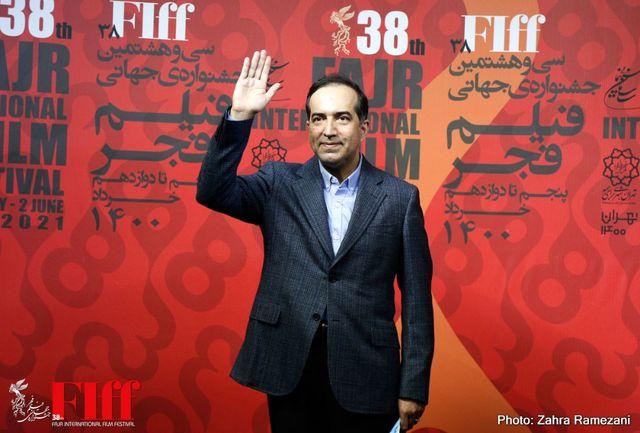 حسین انتظامی از سیوهشتمین جشنواره جهانی فیلم فجر بازدید کرد
