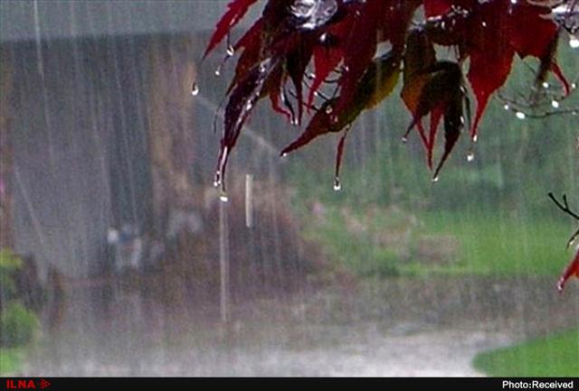 آسمان ایلام ۱۹ فروردین ابری و بارانی است