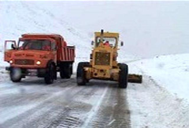 ۵۰ درصد محورهای روستایی فاروج به علت بارش برف مسدود شدند