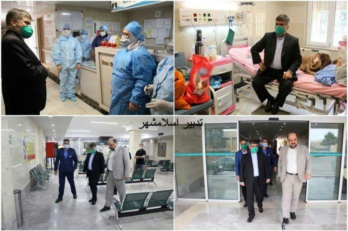 فرماندار اسلامشهر از بیمارستان مرخص شد