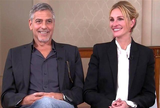جرج کلونی و جولیا رابرتز برای بهشت بلیت می فروشند