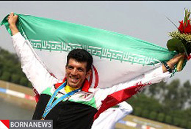 محسن شادی در بین المپیکی های جهان در اسلوونی