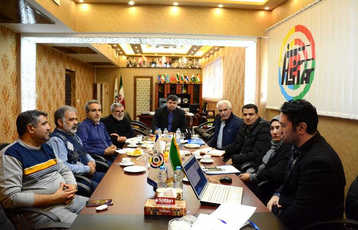 جلسه بررسی و آنالیز عملکرد تیم ملی تپانچه ایران برگزار شد