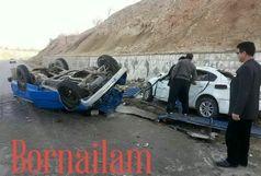 تصادف منجر به مرگ درمحور ایلام سرابله