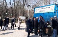 توزیع نهال رایگان در بین شهروندان شمال تهران آغاز شد