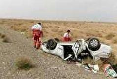 یک کشته و ۲ مصدوم براثر واژگونی سواری ام وی ام