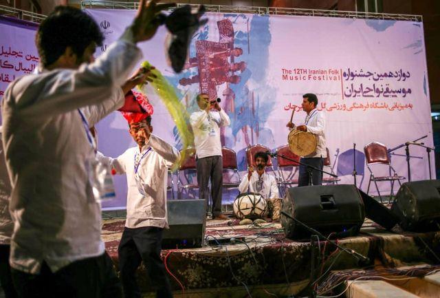 جشنواره موسیقی نواحی ایران در سیرجان برگزار شد