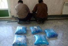 توقیف سواری سمند با 364 کیلو گرم تریاک در اصفهان