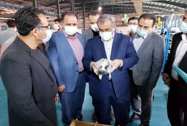 استاندار قزوین برای حل مشکلات واحدهای صنعتی قول مساعد داد