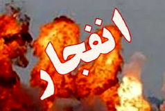 انفجار در خاک سفید تهران
